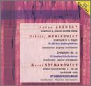 Arensky: Overture A dream on the Volga / Myaskovsky: Overture in C major; Symphony No. 21 / Szymanovsky: Violin Concerto No. 1, Op. 35