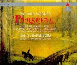 Wagner - Parsifal / Meier, Jerusalem, Hölle, van Dam, von Kannen, Tomlinson, Berlin Phil., Barenboim