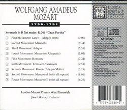"""Mozart: Serenade in B flat major k.361 """"Gran Partita"""""""