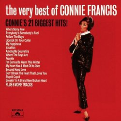 The Very Best of Connie Francis (21 tracks) (Polydor)