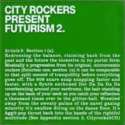 City Rockers Present Futurism 2