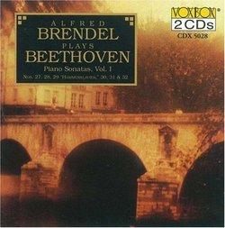 Alfred Brendel plays Beethoven Piano Sonatas, Vol. 1