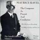 Maurice Ravel: The Composer as Pianist and Conductor