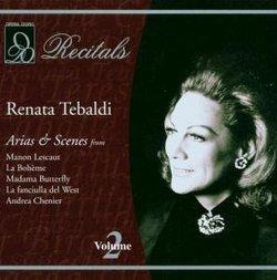 Renata Tebaldi: Aria & Scenes