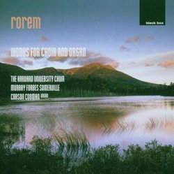 Rorem: Works For Choir And Organ