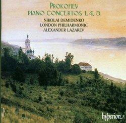 Prokofiev: Piano Concertos Nos. 1, 4, 5