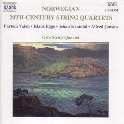 Norwegian 20th Century String Quartets