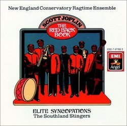 Joplin: The Red Back Book, Elite Syncopations / Schuller, Grierson, New England Ragtime Conservatory, Southland Stingers