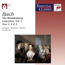 Brandenburg Concertos 1-3