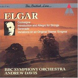 Elgar: Cockaigne, Introduction and Allegro for Strings, Serenade, Enigma Variations