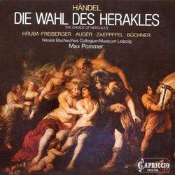 Handel - The Choice of Hercules / Augér, Zaepffel, Hruba-Freiberger, Pommer