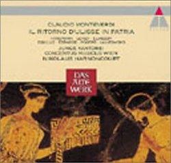 Monteverdi: Il ritorno d'Ulisse in patria / Harnoncourt