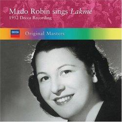 Mado Robin Sings Lakmé