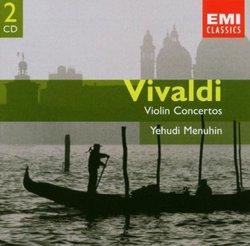 Vivaldi: Violin Concertos, Concertos for 2 Violins, Concertos for Violin & Cello, Concertos for Violin & Organ, Yehudi Menuhin