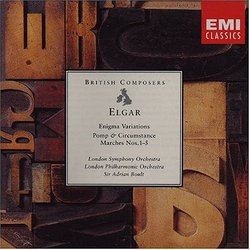 Elgar: Enigma Variations/ Pomp & Circumstance Marches Nos. 1-5