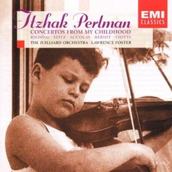 Concertos From My Childhood / Perlman, Foster