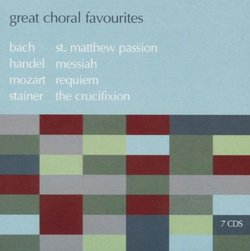 Great Choral Favourites [Box Set]
