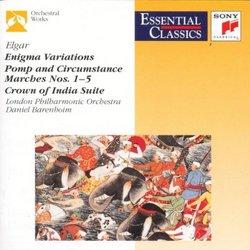 Elgar: 'enigma' Variations, Pomp & Circumstance, Marches Nos. 1-5, etc.