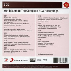 Yuri Bashmet - The Complete Rca Recordings (Audio CD)