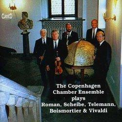 The Copenhagen Chamber Ensemble plays Roman, Scheibe, Telemann...