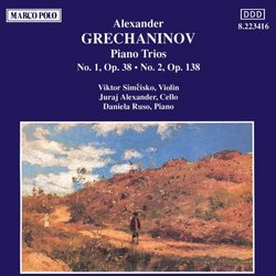 Grechaninov: Piano Trios Nos. 1 and 2