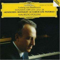 Ludwig van Beethoven: Sonaten Opp. 27/1 - 27/2, 28 (Beethoven: Klaviersonanten)