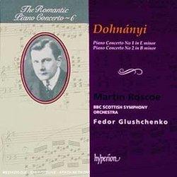 Dohnányi: Piano Concerto No. 1 in E minor; Piano Concerto no. 2 in B minor