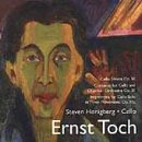 Ernet Toch: Music for Cello