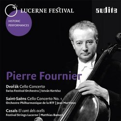 Dvorak, Saint-Saens & Casals: Pierre Fournier - Works for Cello