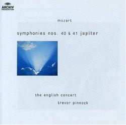 "Mozart: Symphonies Nos. 40 & 41 ""Jupiter"""
