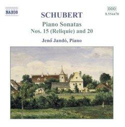 Piano Sonatas D. 959 & D. 840
