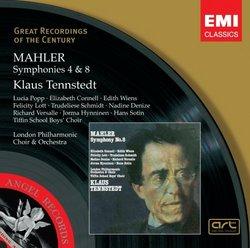Mahler: Symphonies #4 & 8 'Symphony of a Thousand' - Klaus Tennstedt, London Philharmonic Orchestra & Choir