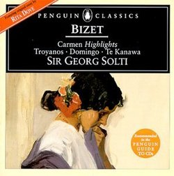 Bizet: Carmen / Troyanos, Domingo, Te Kanawa; Sir Georg Solti [Highlights]