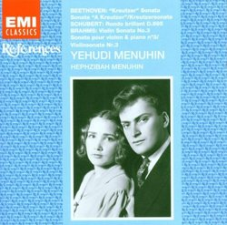 Yehudi Menuhin Plays Great Sonatas