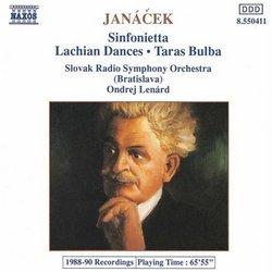 Janácek Sinfonietta; Lachian Dances; Taras Bulba