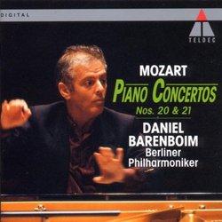 Piano Concerti 20 & 21