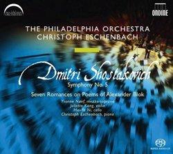 Shostakovich: Symphony No. 5; Seven Romances on Poems of Alexander Blok [Hybrid SACD]