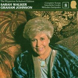 The Hyperion Schubert Edition 8 / Sarah Walker, Graham Johnson