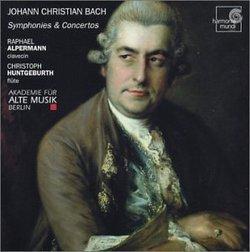 JC Bach: Symphonies & Concertos /Alpermann * Hungebuth * AAM Berlin * Mai