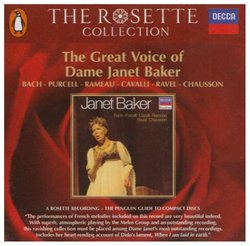 GREAT VOICE DAME JANET BAKER