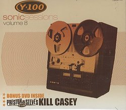 Y100 Sonic Sessions Volume 8 CD + DVD