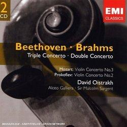 Concertos by Beethoven, Brahms, Mozart & Prokofiev