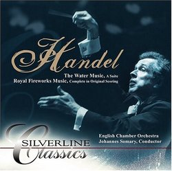 Handel: The Water Music; Royal Fireworks Music [DualDisc]