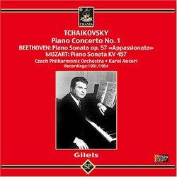 "Tchaikovsky: Piano Concerto No. 1; Beethoven: Piano Sonata Op. 57 ""Appassionata""; Mozart: Piano Sonata KV 457"