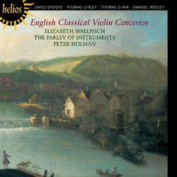 English Classical Violin Concertos