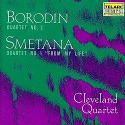"""Borodin: Quartet No. 2; Smetana: Quartet No. 1 """"From My Life"""""""