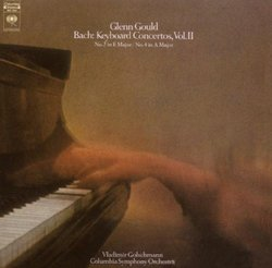 Bach: Keyboard Concertos, Vol. 2