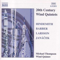20th Century Wind Quintets
