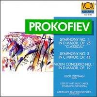 Symphonies 1 & 3 / Violin Concerto 1
