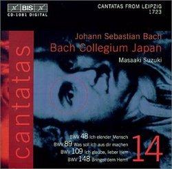 Bach: Cantatas Vol 14 (BWV 148, 48, 89, 109) /Bach Collegium Japan * Suzuki